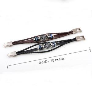 Bracelet de bijoux religieux populaire en ligne Ancien bracelet croisade grecque GSFB437 Mélanger Ordre 20 pièces Beaucoup de bracelets de charme