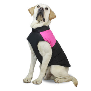 Winter Pet Dog Puppy Clothes Vest Jacket Chihuahua Clothing Warm Dog Clothes Coat For Small Medium Large Dogs 4 Colors