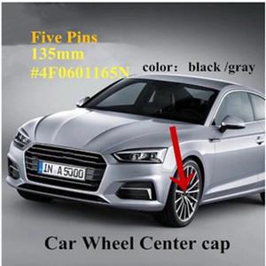 4pcs Wheel Hub Cap Center Center Cover 135mm ABS Hub Cap Logo Sline 4F0601165 4F0601165N PARA A4L A6L COCHE STYLING