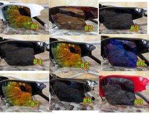 Été Nouvelle mode Vélo Hommes Verres Sun Lunettes Sports Lunettes de soleil Conduite de lunettes de soleil Cyclisme Cyclisme 9Couleurs de bonne qualité Livraison gratuite