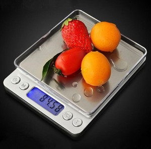 LCD Digital Scales 500g 1000g 2000g 3000g Mini Electronic Grams Weight Balance Scale for Jewelry Baking Weighing Scale kitchen Tools DHL