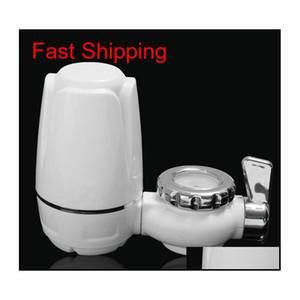 Purificatore d'acqua del rubinetto del rubinetto della cucina del rubinetto della cucina lavabile percolatore mini filtro dell'acqua filtro ruggine rimozione di batteri di ruggine Re Jllmjt Insyard