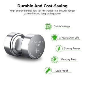 Panasonic 2pcs Lr44 Ag13 Lr 44 Pilas Watch Clock Button Coins Batteries 120mah Zinc Cell For Hearing Aid Remote Control Game Toy sqcJww
