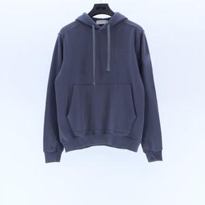 Mens stone island hoodies pullover topstoney donne degli uomini con cappuccio Felpe moda europea stile autunno e inverno paio hoodie