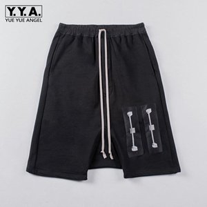 New Arrival Summer Mens Casual Shorts Fashion Printing Man Short Pants Loose Patchwork Fit Harem Male Knee Length Trousers