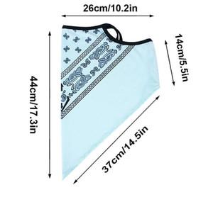 Fashion Unisex Ice Silk Sport Bandana Triangle Pendant Face Mask Tube Scarf Neck Legging Cover Fishing Headband jllgod xjfshop
