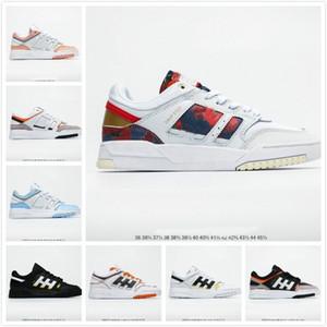 Commercio all'ingrosso online 2020 Drop Sneakers Sneakers Uomo Donne Scarpe sportive in pelle Unisex Casual Skateboard Scarpe Skateboard Moda Style Designer Shoe 36-45