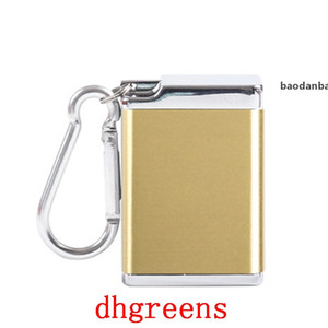 JH Stainless Steel Mini Portable Eco-Friendly Ashtray Durable Sliver Car Trendy Useful Good Bedroom Indoor Fashion Ashtray