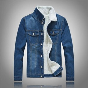 2020 Cotton Casual Denim jackets Men's fashion Jacke Waistcoat high-grade Jean top Coat Ripped Slim Fit Male Cowboy clothes