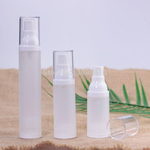 15ml 30ml 50ml Airless spray Bottle Frosted Vacuum Pump Lotion Refillable Bottles Used for Cosmetic Container F890