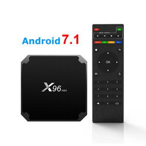 X96 mini Android 7.1 TV BOX 1GB 8GB Amlogic S905W Quad Core Smart TV Box X96mini