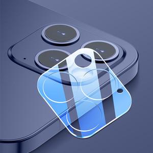 Телефон камеры объектив экрана протектор для iPhone 12 Mini 11 Pro Max Case 3D прозрачная устойчивость к царапинам задняя камера закаленная стеклянная пленка