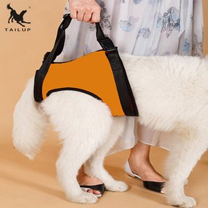 TAILUP S M L Elderly Sick Dog Lift Support Harness With Handle Neoprene Material Pet Hindleg Harness Q1119