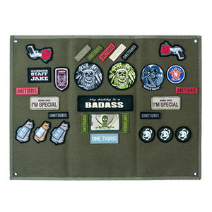 OneTigris Tactical Patch Holder Board Patch Badges Folding Mat for All Patches ID Patches Name Tapes