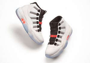 2021 publié authentique 11 High OG Adapt Automatic Lacets L'auto-laçage Véritable Fibre de carbone Rouge Multicolor Mulieurs Chaussures de plein air Sports Sports Sports Sports