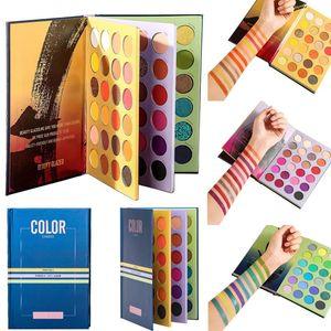 Stokta !! Makyaj Paleti Güzellik Sıralı 72 Renk Shades Kitap Göz Farı Yüksek Pigmentli Pırıltılı Glitter Mat Çıplak Göz Farı Paleti Marka