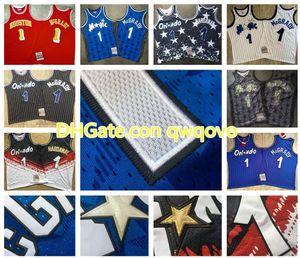 Vintage Hommes 1 Penny HardawayOrlandola magieHWC Jersey 1 TracyMcGradyMitchell Ness Swingman Basketball Jerseys