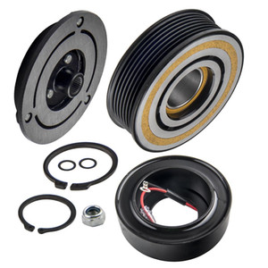 A C Compressor Clutch Electromagnetic Coil Front Plate Pulley With Bearing Kit for Toyota Tacoma 4 Cyl. 2.7L 2005-2016 6 Cyl 4.0L 2005-2015