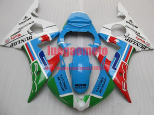 Injection Cowling bodywork For white green red black Yamaha YZF-R6 03 04 YZFR6 YZF R6 2003 2004 YZF600 Sports body kits Motorcycle fairing