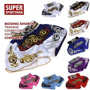 Мужчины MMA Tiger Muay Thai Crossfit Shorts Детские бочки BJJ Tap Kick Boxing Boxing Boxing Boxing Boxing Boxing Детей Kickboxing Thailand Training Brounds 201216
