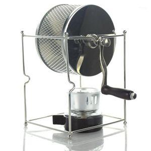 Coffee Roasters -DIY Stainless Steel Bean Baked Machine Mini Manual Beans Roaster1