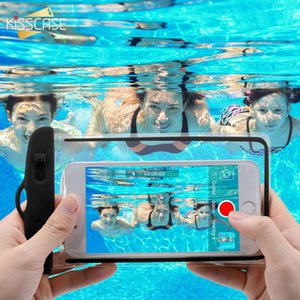 "Waterproof Phone Case For iPhone Samsung Xiaomi Huawei 6.2"" Luminous Underwater Case Phone Pouch Smartphone Bag Cover"