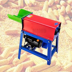 Doble cilindro de maíz maíz maíz maíz thresher sherher peeler maíz pelado trilla máquina trigo de trigo arroz grano trillador camarero maquinaria