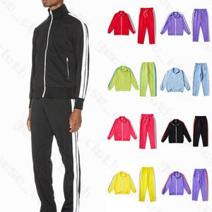 Novos 21ss Mens Womens Designers Tracksuit Suites 2021 Homens Trilha Suor Terno Casacos Mans Tracksuits Jackets Sweatshirt Sportswears