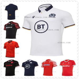 2020 2021 Galler İskoçya Rugby Formalar 20 21 Eve Dight Galce Mens Boyutu S-3XL İskoç Gömlek Maillot Camiseta Maglia