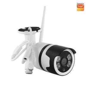 Tuya Smart Life 1080P IP66 Waterproof Outdoor IP Camera P2P WiFi Security Wide Angle Camera Bullet CCTV Surveillance IR Camera