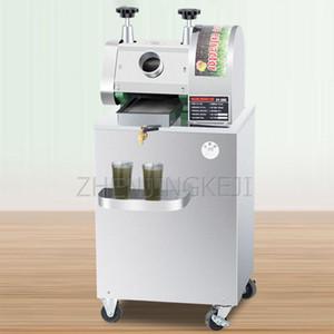 Sugarcane Sıkacağı Dikey Mobil 300kg / H Sugarcane Makinesi Kamışı Tam Otomatik Şeker Kamışı Suyu Ticari Elektrik Sıkacağı