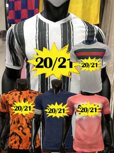 Player version DYBALA Cuadrado soccer jersey Chiellini Chiesa McKennie MORATA RABIOT KULUSEVSKI football shirt ARTHUR DE LIGT 2020 2021