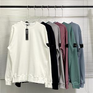 디자이너 CP Topstoney 스웨터 해적 회사 2020FW Konng Gonng 남자의 새로운 패션 브랜드 고품질 라운드 넥 스웨터