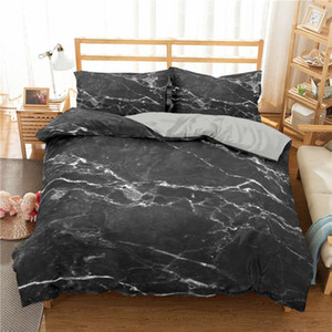 3D Modern Pattern Bedding Set Duvet Cover Set Colorful Marble Printed Comforter Cover 2 3 Pieces Bed Sheets and Pillowcases