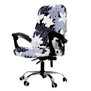 Modern Office Computer Chair Cover Dustproof Seat Cover For Gaming Chair Stretch Computer Office Studio Elastic1