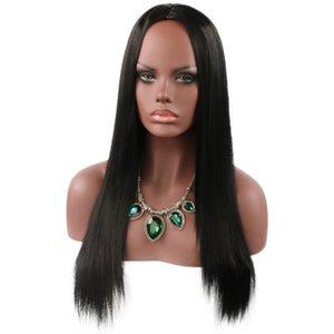 Wholesale Brazilian Kinky Straight Hair Wigs Natural Human Hair Wigs cheap custom straight human hair lace front wig