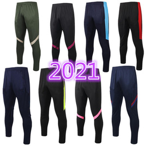 Pantalon long 2020 2021 Pantalon de football Marseille Real Madrid Dazard 2021 Chandal Futbol Air Jogging Paris Mbappe Soccer Pantalons