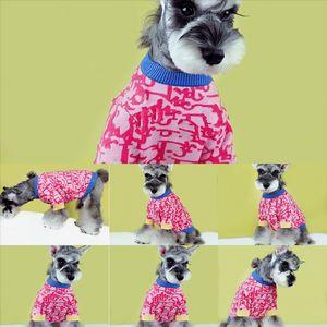 Новая мода бренд питомца одежда свитера Sweaterdog роскошный кот Fadou Chenery Teddy Cokey осень зима дизайнер собака свитер свитер # 1801