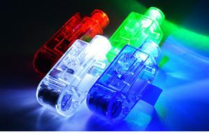 Fingerleuchte Boxed LED leuchtendes Spielzeug Nachtclub-Konzert-bunte Flash, um die Atmosphäre-Weihnachts-Party-Lieferungen anzupassen