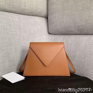 High Quality 2019 new high-end custom ladies handbags French big designer Fashion college style flip bag Adjustable leather shoulder strap