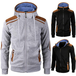 ZOGAA Spring Men's Jackets Hooded Coats Casual Zipper Sweatshirts Male Tracksuit Fashion Jacket Mens Clothing Outerwear HoodiesX1121