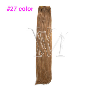 VMAE Brazilian European Real Unprocessed Human Hair #613 Straight Hair 200g Extensions Girls Hair Clip In Extensions Clips