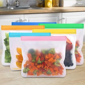 2020 Silicone Bag Silicone Food Storage Containers Leakproof Reusable Shut Fresh Food Storage Bag Hot Sale