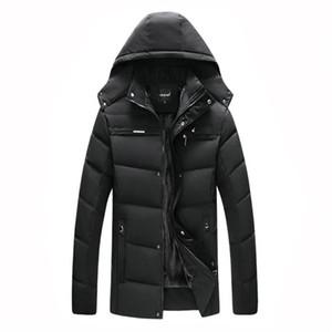 coat coatWinter thick jacket men's 20 degree warm coat hooded jacket cotton