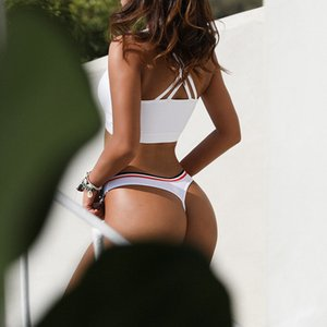 Simple Design Sporty Style Cotton Thongs Panties G String Fashion Underwear Women Erotic Female Seamless Briefs Sexy Lingerie