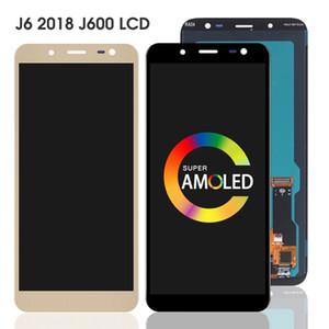 OLED J600 LCD para Samsung Galaxy J6 2018 J600G J600FN J600GF J600GT J600L LCD Display Display Touch Screen Digitador Associar Peças sobressalentes