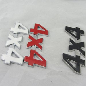 3D 4x4 Four wheel drive Car sticker Logo Emblem Badge Decals Car Styling Accessories for Ford Bmw Lada Honda Audi