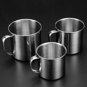 Tumblers 304 Stainless Steel Sports Mugs Travel Water Bottle with Cover 8cm 9cm 10cm 11cm 12cm