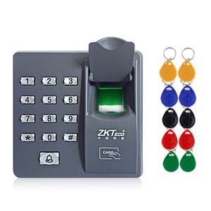 RFID Digital Access Control Contrôle du clavier Biométrique Doigt Imprimer Système d'accès Contrôleur Contrôleur Mot de passe de clavier + 10pcs Keyfobs