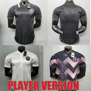 Jeux de joueur 2020 2021 MLS Inter Miami CF Soccer Jerseys 20 21 Édition Spéciale Rose Higuain Pizarro Matuidi Beckham Chemises de football enfants